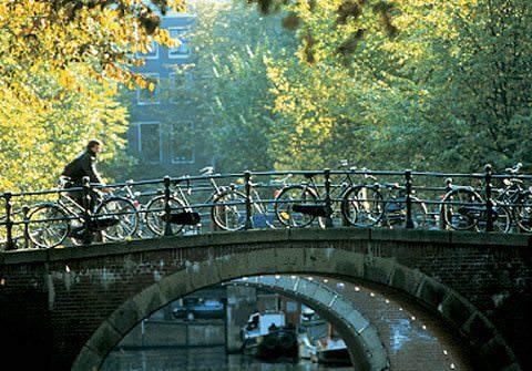 Bridge with Bikes