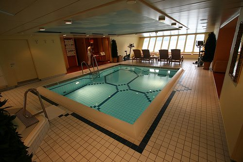 And a pool