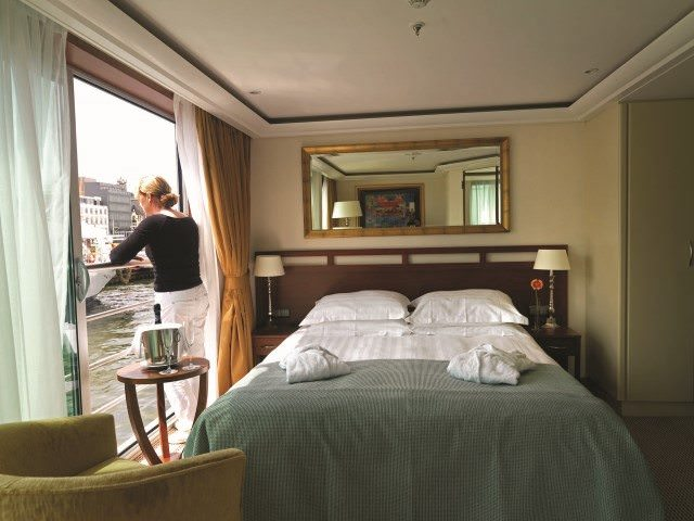 AmaDante boasts a Category A+ Suite. Photo courtesy of AmaWaterways.