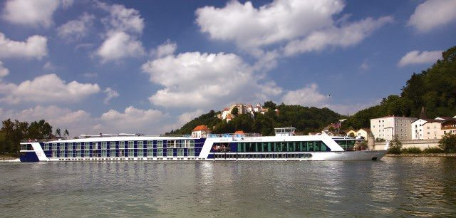 AmaDante in Passau, Germany. Photo courtesy of AmaWaterways.