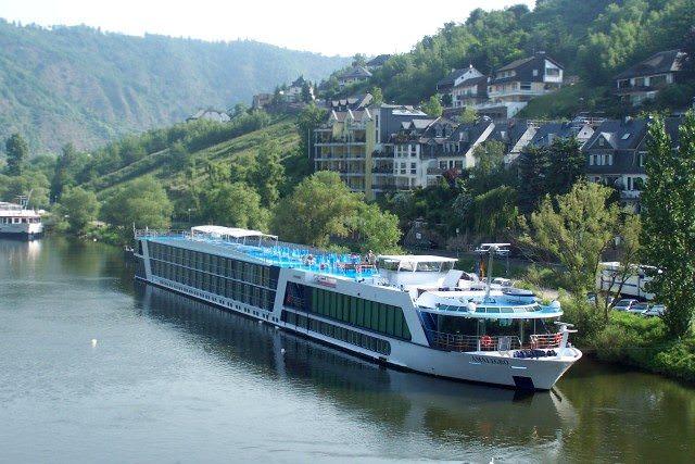 AmaLegro sails the rivers of Europe for AmaWaterways. Photo courtesy of AmaWaterways.