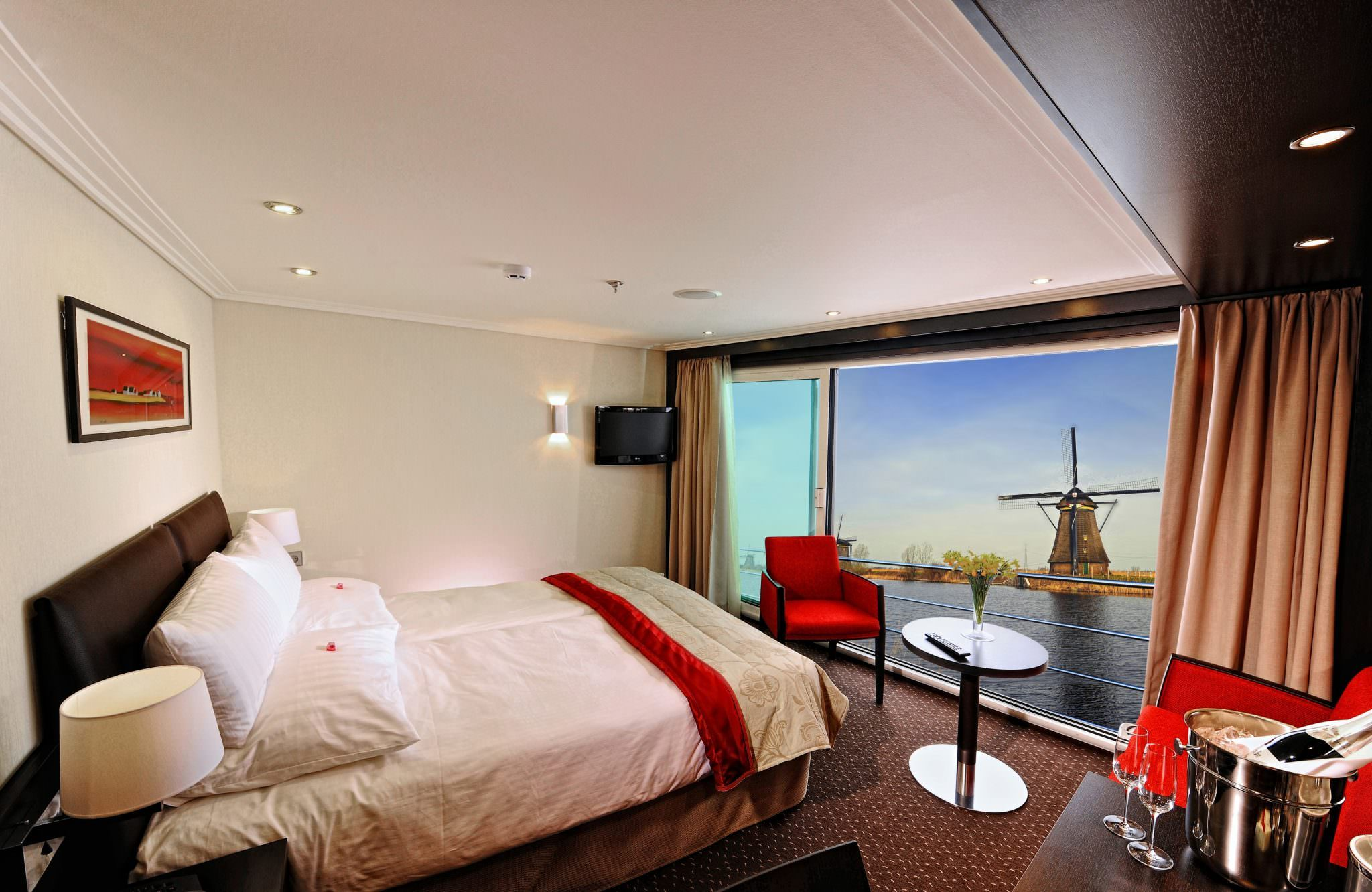 European River Cruise Suites Cabins And Accommodations