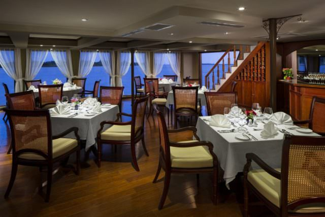 AmaDara Fusion Restaurant. Photo courtesy of AmaWaterways