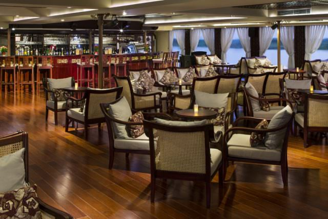 AmaDara Saigon Lounge. Photo courtesy of AmaWaterways