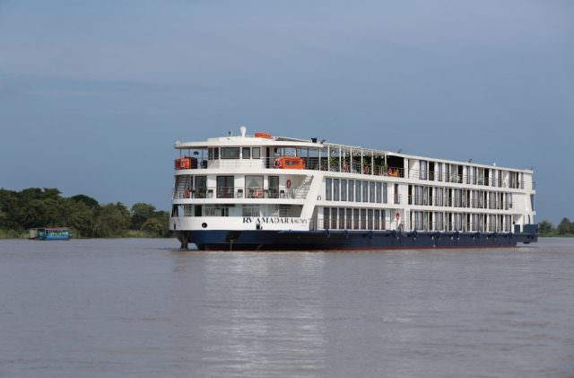 AmaDara on the Mekong. Photo courtesy of AmaWaterways
