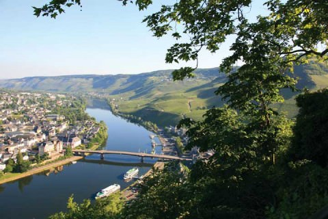 Beautiful Bernkastle-Kues, Germany, noted for its Reisling wine production. Photo courtesy of Avalon Waterways.
