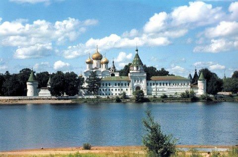 "The historic city of Kostroma, part of Russia's ""Golden Ring."" Photo courtesy of Uniworld River Cruises"