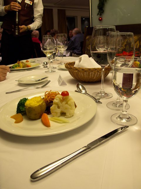Of course, every AmaWaterways voyage comes with the line's impeccable focus on food and service. Photo © Aaron Saunders