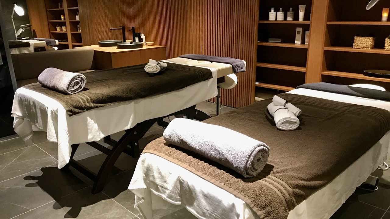 Expanded Massage Therapy Room