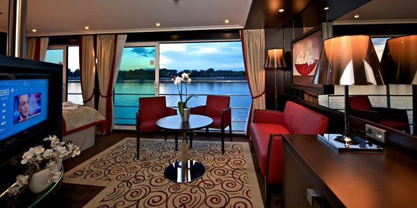 Avalon Artistry II will continue Avalon's tradition of building exquisite suites. Photo courtesy of Avalon Waterways
