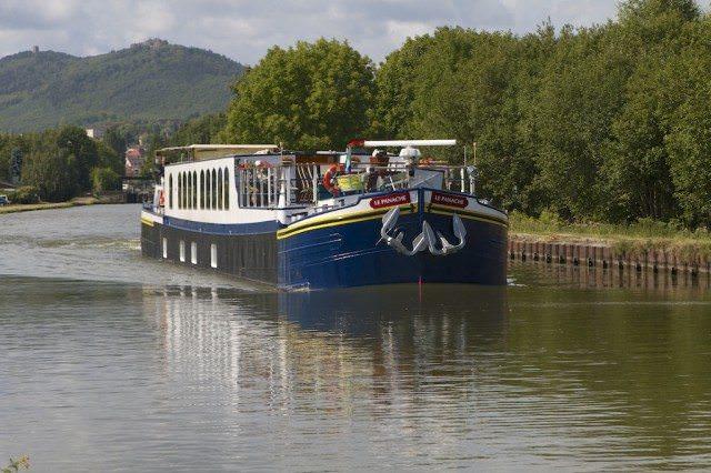 European Waterways Panache In Saverne. © 2012 Ralph Grizzle