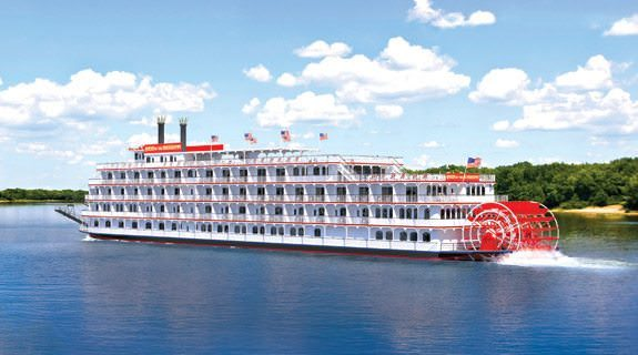 The Queen of the Mississippi entered service on Saturday, August 4, 2012. Photo courtesy of American Cruise Lines.