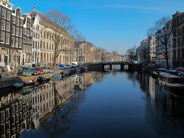 Amsterdam's legendary canals celebrate 400 years in 2013. Photo © Aaron Saunders