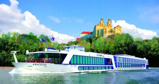 "AmaWaterways announces their 2013 lineup of speakers for their popular ""In Celebration of Wine"" theme cruises. Photo courtesy of AmaWaterways"
