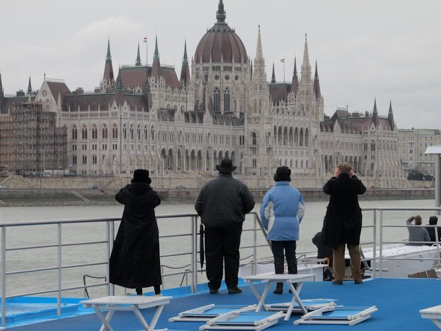 Sailing the Danibe past the Hungarian Parliament in Budapest with AmaWaterways. Photo © Aaron Saunders