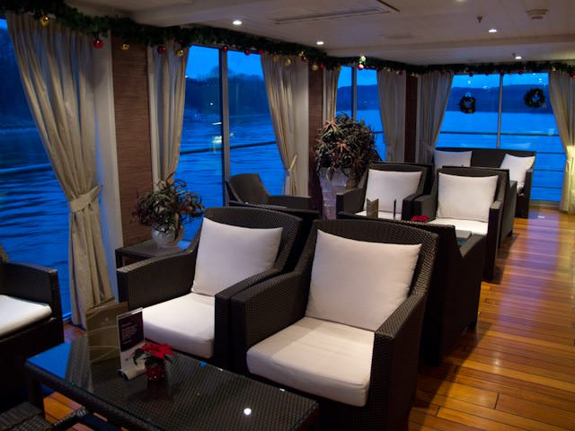 All AmaWaterways ships boast comfortable and attractive public areas. Photo © Aaron Saunders