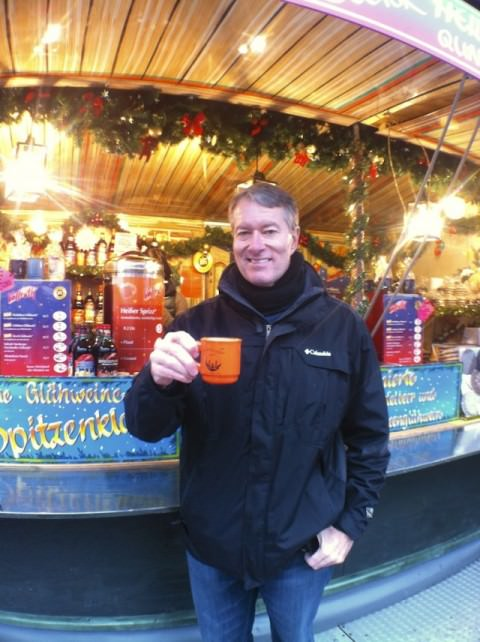 Of course - we can't forget the Gluhwein! Photo © Ralph Grizzle