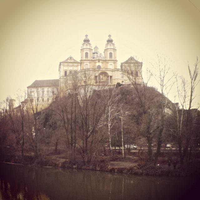 Melk Abbey in soft light