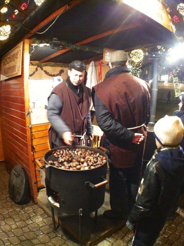 Chestnuts, Budapest Christmas Markets