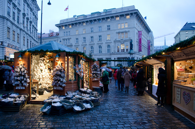 The spirit of Christmas, alive and well in Vienna! Photo © 2012 Aaron Saunders