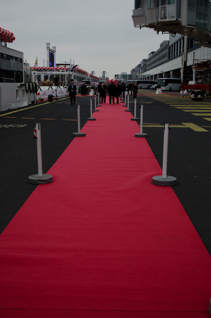 It's Christening Time at the Passenger Terminal Amsterdam! Photo © 2013 Aaron Saunders