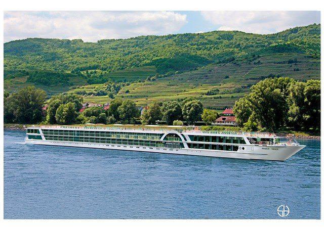 The new Amadeus Silver is the newest member of Luftner Cruises' Amadeus fleet. Photo courtesy of Amadeus Cruises.