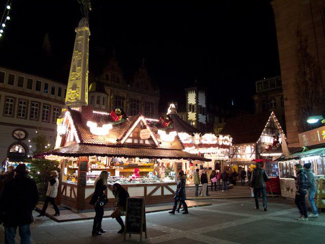 Frankfurt may be modern, but holiday traditions still run deep here. Photo © 2013 Aaron Saunders