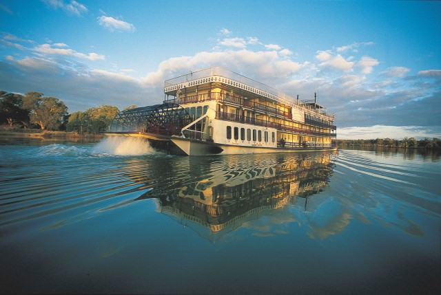 The Murray Princess explores Australia's massive Murray River. Courtesy of Captain Cook Cruises.