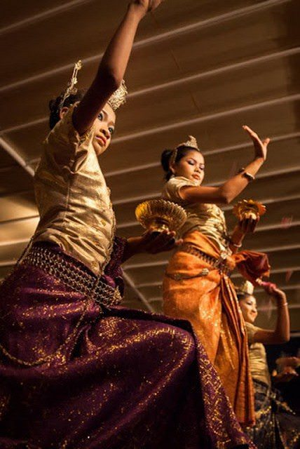 Onboard entertainment reflects the diverse regions in which Pandaw sails. Photo courtesy of Pandaw Cruises.