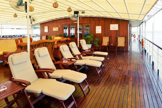 Scenic cruising at its most relaxed. Photo courtesy of Pandaw Cruises.