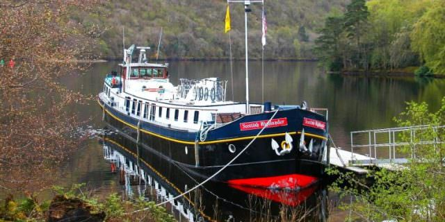 Did you know you can river cruise through Scotland? You can! Photo courtesy of European Waterways.