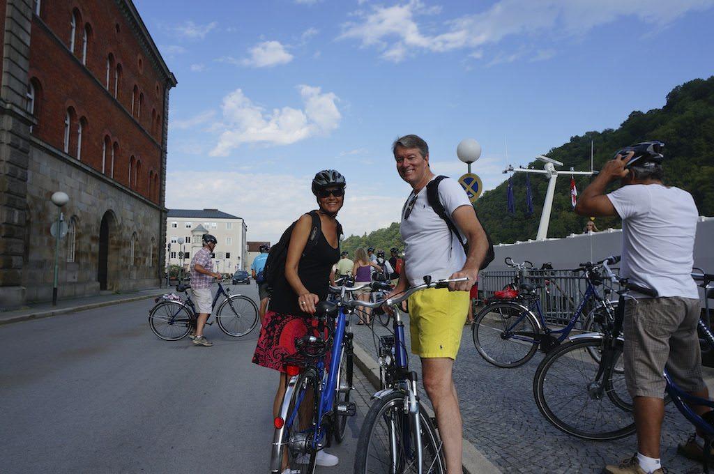 Biking In Passau