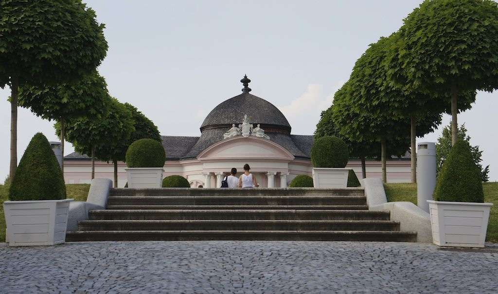 Grounds at the Melk Abbey
