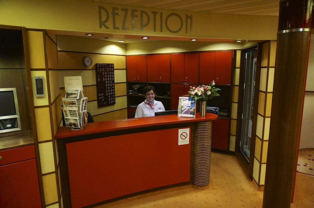 Reception Desk On A-ROSA Stella