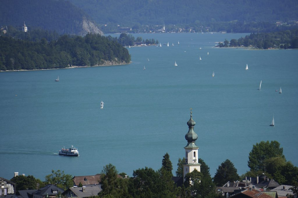 The Wolfgangsee, Birthplace Of Mozart