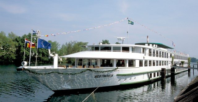 CroisiEurope's Beethoven sails Europe's Rhine and Danube rivers. Photo courtesy of CroisiEurope.