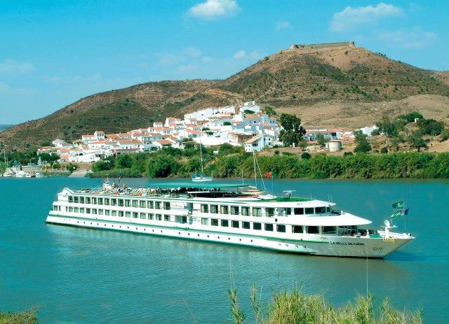 Constructed in 2005, Belle de Cadix sails through Spain for CroisiEurope. Photo courtesy of CroisiEurope.