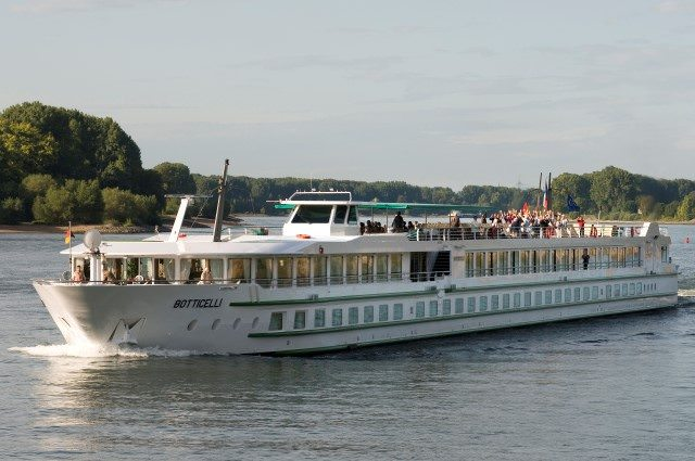 CroisiEurope's Botticelli is a sister-ship to Seine Princess. Photo courtesy of CroisiEurope.