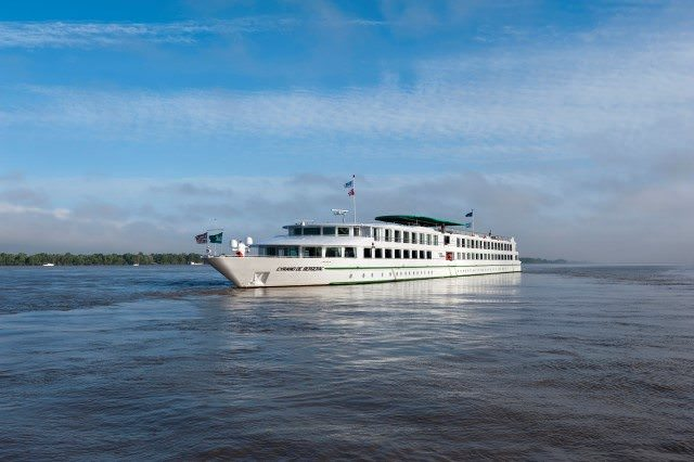 CroisiEurope's Cyrano de Bergerac was constructed in 2013 and sails the Gironde River. Photo courtesy of CroisiEurope.