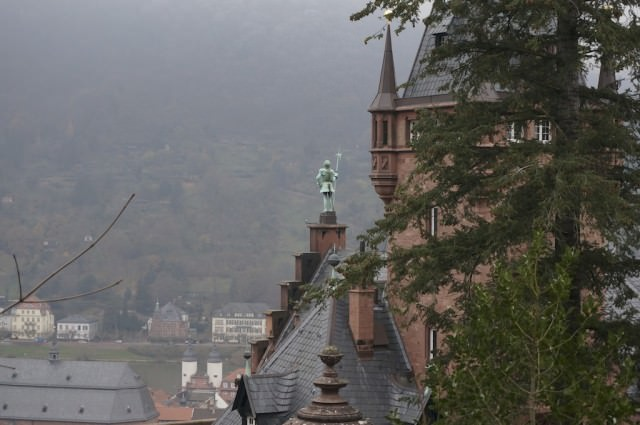 At Heidelberg Castle. © 2013 Ralph Grizzle