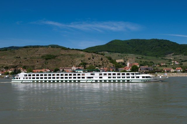 CroisiEurope's 2006-built L'Europe on the Danube. Photo courtesy of CroisiEurope.