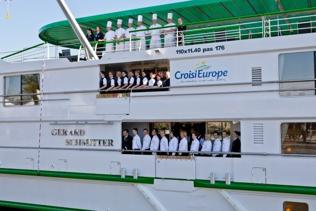 Gerard Schmitter is named after the company's founder, and is also one of the newest ships in the CroisiEurope fleet. Photo courtesy of CroisiEurope.