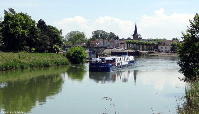 Jeanine sails the canals of France for CroisiEurope. Photo courtesy of CroisiEurope