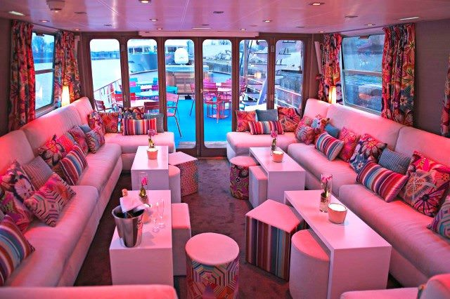 Public areas aboard Jeanine are trendy and intimate. Photo courtesy of CroisiEurope
