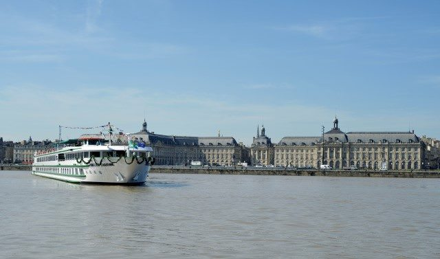 CroisiEurope's Princesse d'Aquitaine sails the Gironde River. Photo courtesy of CroisiEurope
