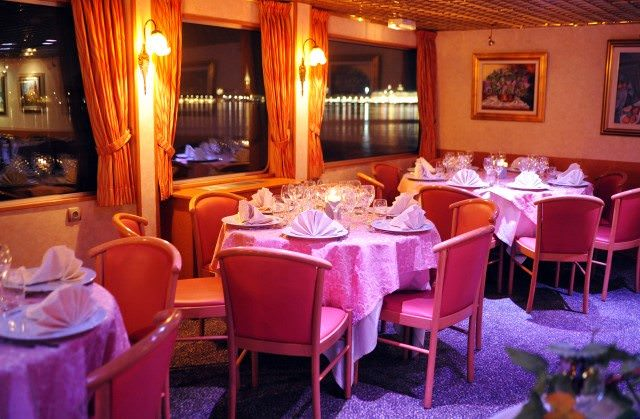 Public areas aboard Princesse d'Aquitaine are bright and vibrant. Photo courtesy of CroisiEurope