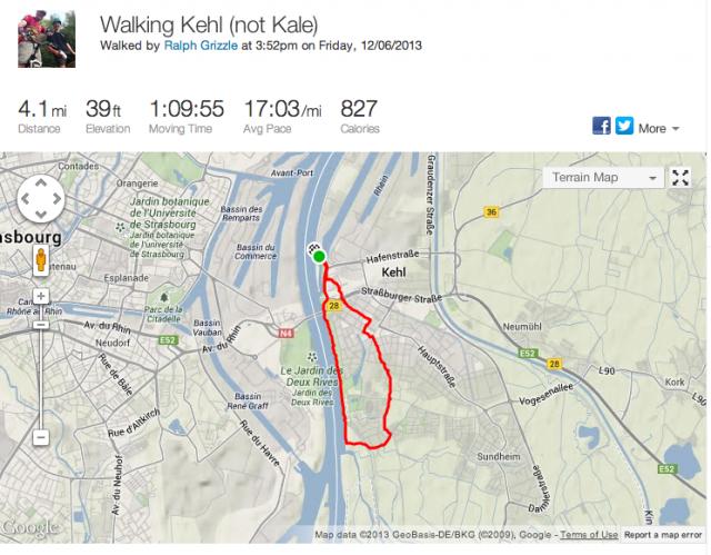 Walking Kehl