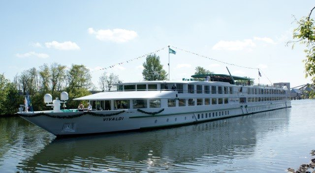 CroisiEurope's Vivaldi is a sister-ship to the company's Beethoven and L'Europe, among others. She sails the Danube and Rhine rivers. Photo courtesy of CroisiEurope.