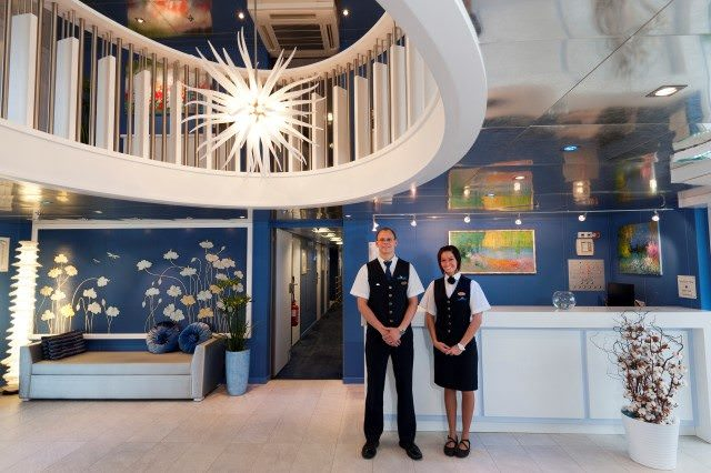 Smart design and genuine service characterizes the onboard experience with CroisiEurope. Photo courtesy of CroisiEurope.