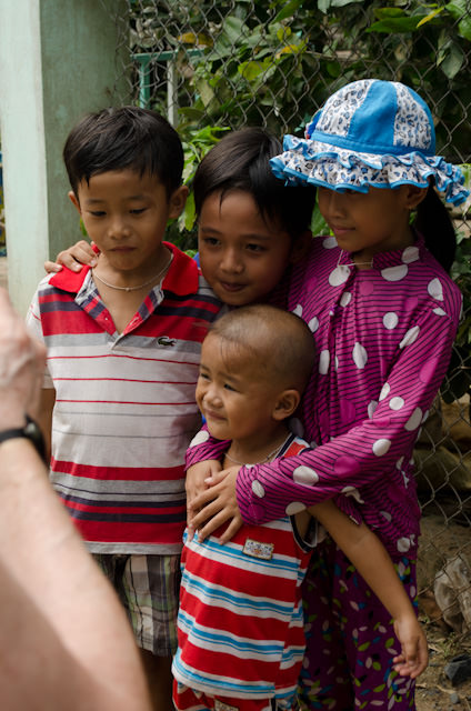 The best part of walking through the local villages of Vietnam: the kids, who speak excellent English are are genuinely excited to see tourists. Photo © 2013 Aaron Saunders